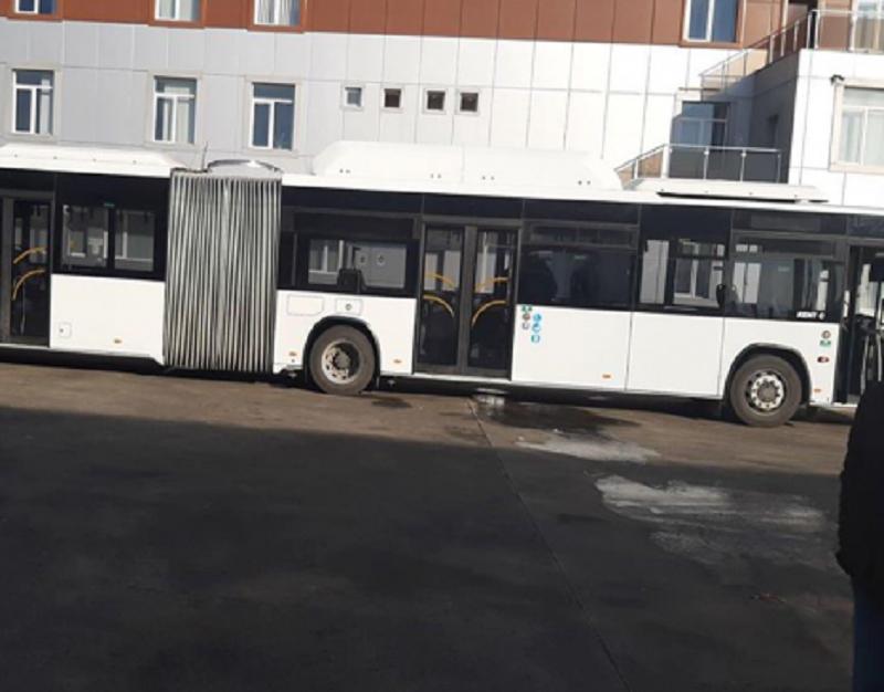 დღეიდან თბილისში 18-მეტრიანი ავტობუსი იმოძრავებს