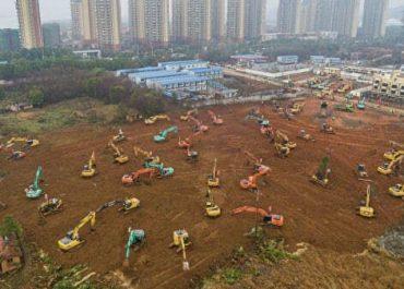 """""""ხელისუფლებამ 9 მილიონიან ქალაქში გუშინ დაიწყო ათას საწოლიანი საავადმყოფოს აშენება"""""""