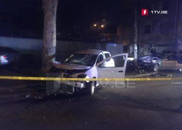 ბერი გაბრიელ სალოსის ქუჩაზე მომხდარ ავარიას 8 წლის ბავშვი ემსხვერპლა