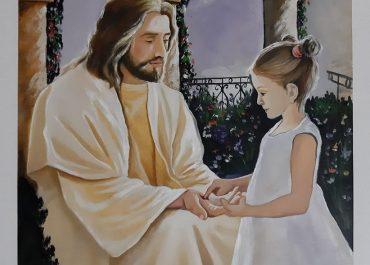 """""""ანიტა ქრისტემ ჩაიკრა გულში """" - მამა სევერიანეს საოცარი ნახატი"""