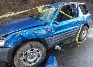 თბილისის შემოსასვლელთან მანქანა კლდეს შეეჯახა - დაშავდა 6 ადამიანი
