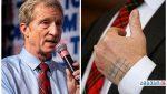 რატომ ახატია აშშ-ის პრეზიდენტობის კანდიდატს ხელზე ხუთჯვრიანი დროშა?