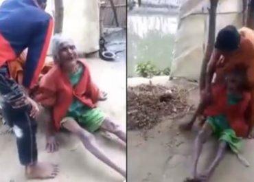 შვილმა და რძალმა მოხუცი დედა სცემეს – უმძიმესი კადრები, რომელმაც მსოფლიო შეძრა - (ვიდეო)