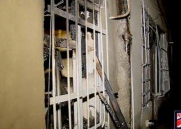თბილისში მაცივარი აფეთქდა და ხანძარი გაჩნდა