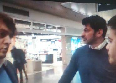 (ვიდეო) - ვინ დახვდა მიუნხენის აეროპორტში კალაძეს და კობახიძეს?