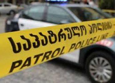 პოლიციამ ბოლნისში განზრახ მკვლელობის ფაქტი ცხელ კვალზე გახსნა - დაკავებულია ერთი პირი