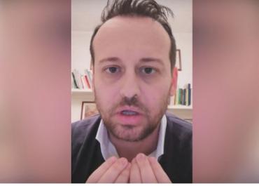 """დღის ვიდეო - იტალიელი მერი ხალხს ევედრება: """"დარჩით სახლში!"""""""