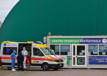 იტალიაში ბოლო 24 საათში ისევ ასეულობით ადამიანი გარდაიცვალა