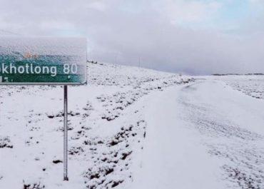 აფრიკაში თოვს - ბოლო 26 წლის მანძილზე პირველად! - (ვიდეო)