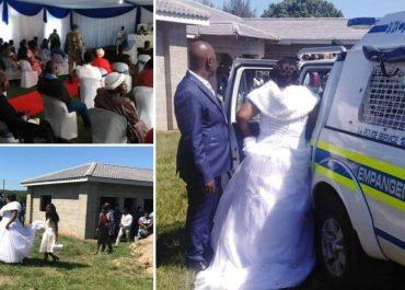 სიძე-პატარძალი და პასტორი პოლიციამ კარანტინის დარღვევისთვის ქორწილში დააკავა - (ვიდეო)
