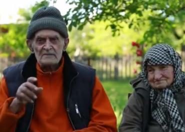 """(ვიდეო) 100 წელს გადაცილებული წყვილი ჭიათურიდან - """"ერთად დავიბადეთ და ერთად უნდა მოვკვდეთ"""""""