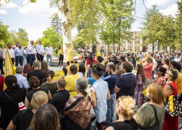 """დღეს, 30 ივლისს, პოლიტიკურმა გაერთიანებამ """"ლელო საქართველოსთვის"""" აბაშაში 31-ე რაიონული ორგანიზაცია გახსნა"""