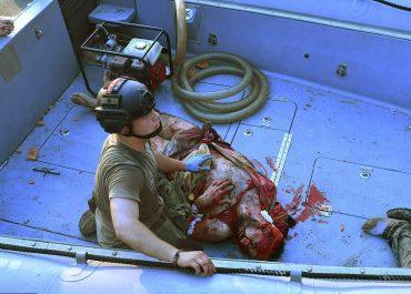 კაცი, რომელიც აფეთქებამ ზღვაში ჩააგდო და 30 საათის განმავლობაში სისხლისგან იცლებოდა, გადარჩა - ბეირუთი