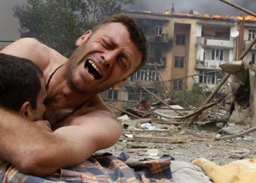 """7 აგვისტოს აქცია ხურვალეთში - """"ჩვენ გვახსოვს რუსული აგრესია"""""""