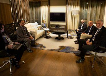 """""""ლელოს"""" ლიდერები ეუთო/ოდირის სადამკვირვებლო მისიის წარმომადგენლებს შეხვდნენ"""