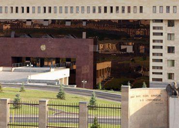 სომხეთის თავდაცვის სამინისტრო აზერბაიჯანის არმიის ჯავშანტექნიკის განადგურებაზე ავრცელებს ინფორმაციას