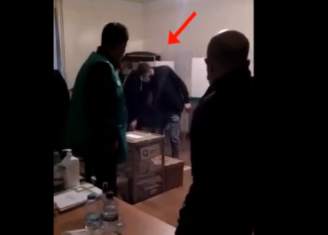 (ვიდეო) - მარნეულში ერთმა პირმა ხმა 10-ჯერ მისცა