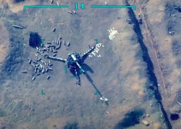 (ვიდეოები) - აზერბაიჯანმა დაბომბვის  და ჯარისკაცების დახოცვის კადრები გამოაქვეყნა