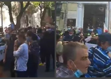 """(ვიდეო) - """"მთავრობისგან დაკიდებული მოსახლეობის აქცია!!!"""""""
