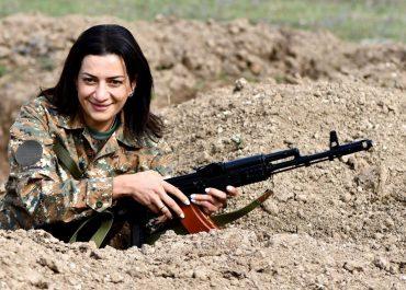 ნიკოლ ფაშინიანის ცოლი ომში მოხალისედ წასვლას გეგმავს