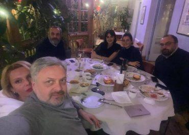 """(ფოტოები) - გიორგი ბარამიძემ იქორწინა - """"ქართულ-უკრაინული ოჯახი შედგა"""""""