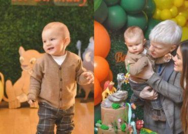 (ფოტოები) - როგორი დაბადების დღე გადაუხადეს 1 წლის ბერუკას