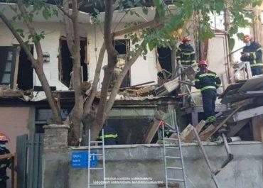 თბილისში, ბესიკის ქუჩაზე, საცხოვრებელ სახლში აფეთქება მოხდა