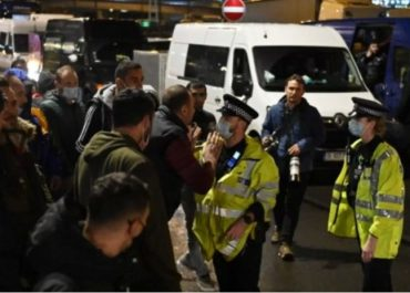 საფრანგეთში სამი პოლიციელი მოკლეს