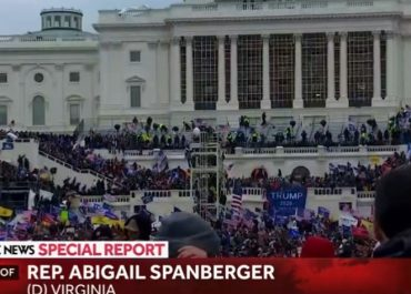 (ვიდეო) - ტრამპის მომხრეთა შეჭრა კონგრესში, მასობრივი არეულობა აშშ-ში