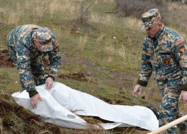 მთიან ყარაბაღში 20 ადამიანის სხეულის ნარჩენები იპოვნეს