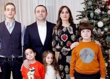 კახა კალაძის, ირაკლი ღარიბაშვილის და ბერას ოჯახური ახალი წელი